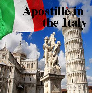 Apostille in Italy