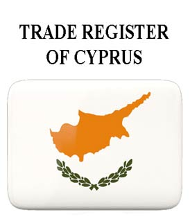 Extract from the commercial register of Cyprus