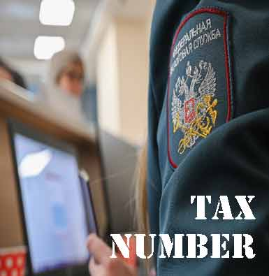 Company tax number in Russia