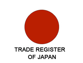 Extract from the commercial register of Japan