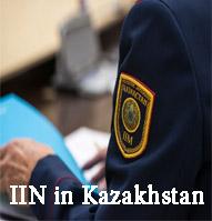 IIN in Kazakhstan