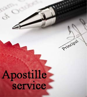 Apostille services (legalization)